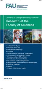 """4 Screen """"Faculty of Sciences"""" (Image: FAU, Fotolia)"""