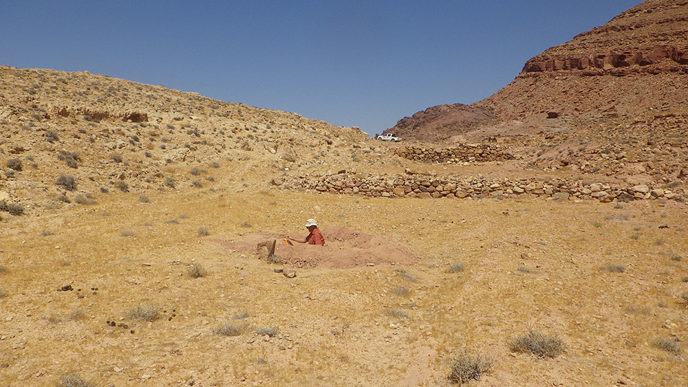 "Towards entry ""Geographers from FAU investigate ancient land use near the Jordan Valley"""