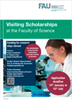 The poster gives information about the scholarship, see: https://www.frauenbeauftragte.nat.fau.de/funding-opportunities/visiting-scholarship-en/